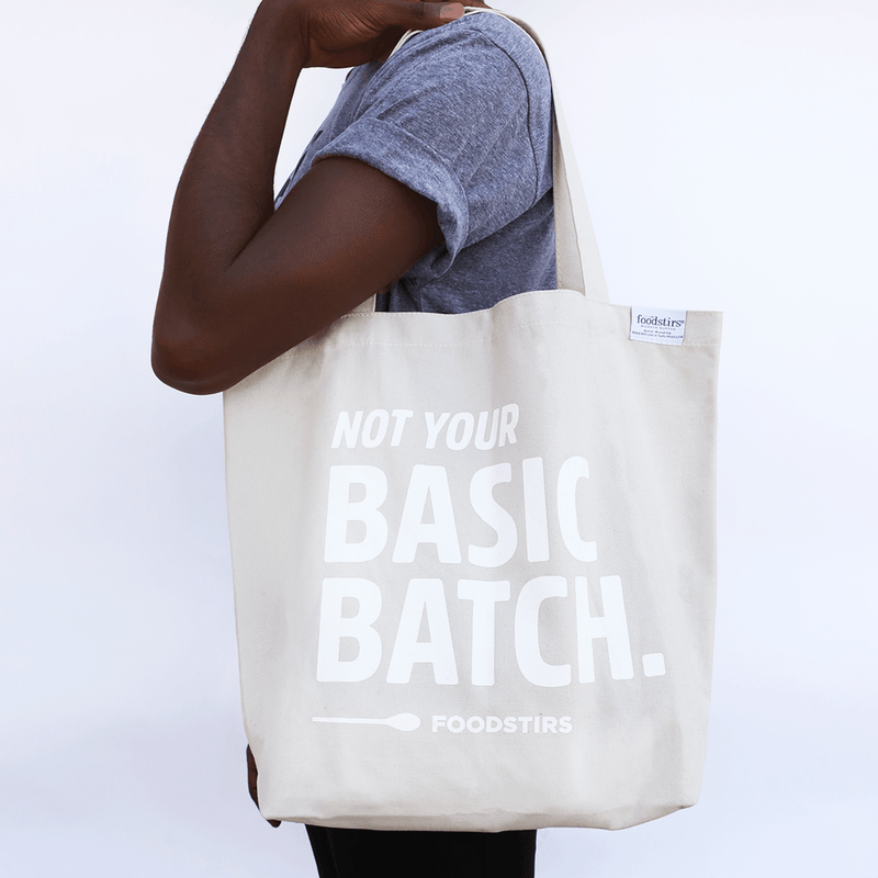 """Not Your Basic Batch"" Tote"