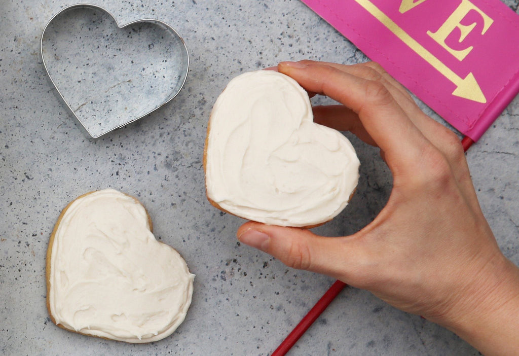 Organic Frosted Sweet Tooth Heart Cookie Bundle