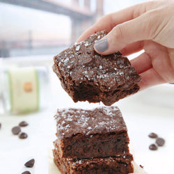 Foodstirs Organic Double Chocolate Sea Salted Brownie Mix