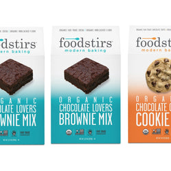 Foodstirs Organic Baking Mix, Variety Pack: Chocolate Lovers Trio Set