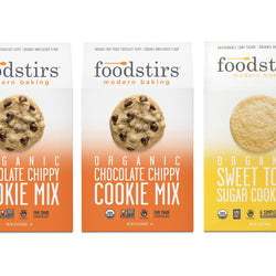 Foodstirs Organic Baking Mix, Variety Pack: Cookie Mix Trio Set