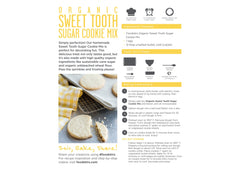 Organic Sugar Cookie Mix Trio Set