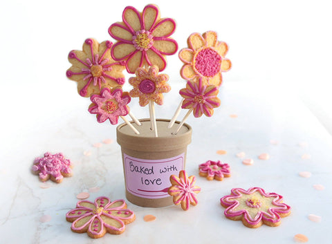 Darling Daisy Cookie Bouquet Kit