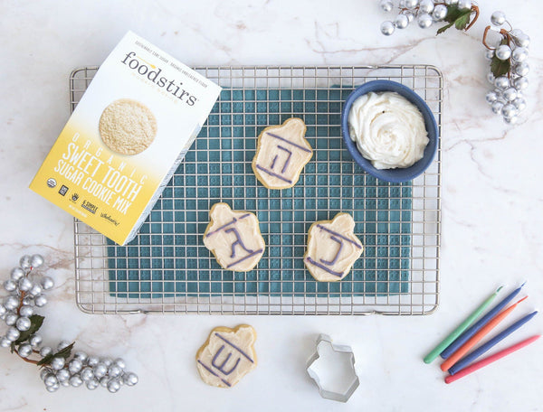 Dreidel Cookie Kit