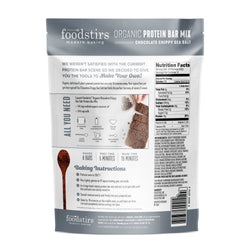 Foodstirs Organic Chocolate Chippy Sea Salt Protein Bar Mix