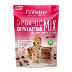 Foodstirs® Organic Very Berry Chocolate Chip Chewy Oat Bar Mix