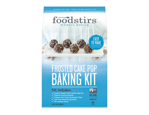 Frosted Cake Pop Baking Kit
