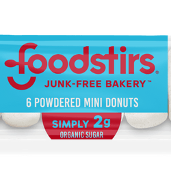 Powdered Mini Donuts - (6 6-packs of donuts, 36 mini donuts)