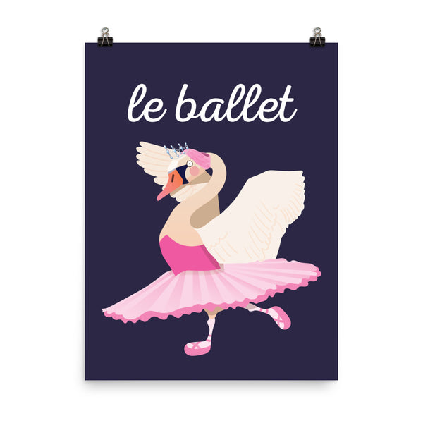 Ballet Swan - French