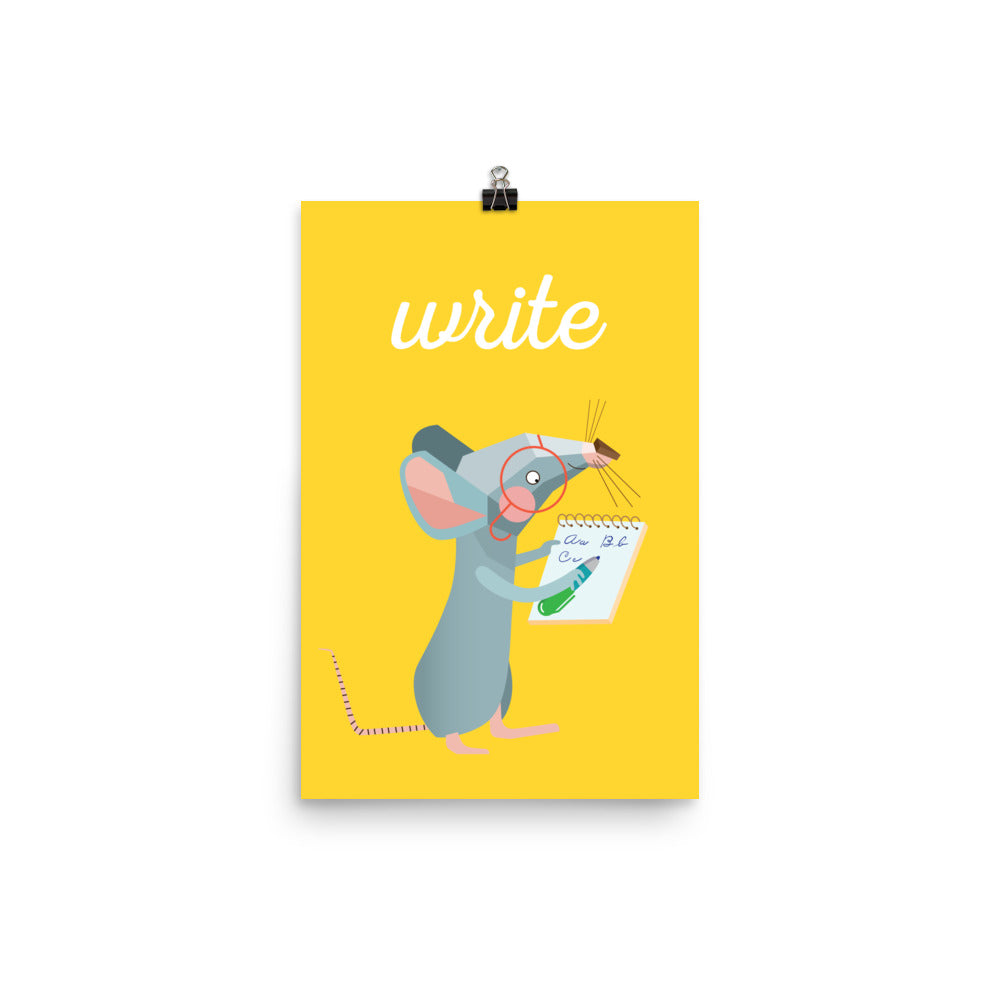 Writing Mouse