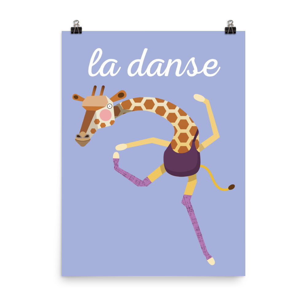 Dancing Giraffe - French