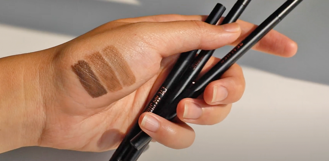 brow pencil hand swatch