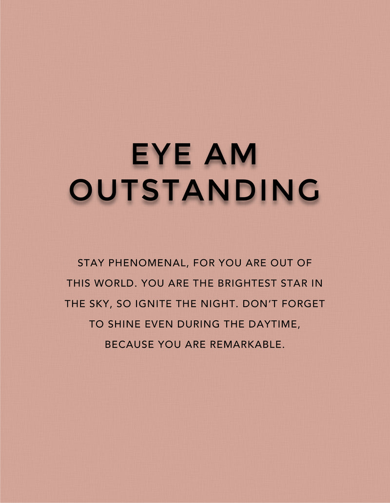 """Eye Am Outstanding"" Liquid Eyeliner"