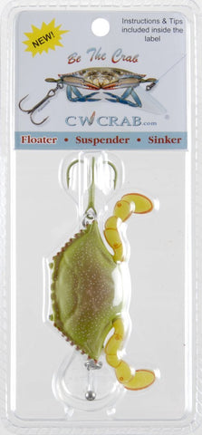 CW CRAB Floater Fishing Lure