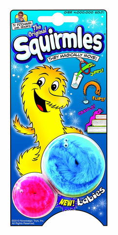 Nowstalgic Toys Squirmles, The Magical Pet w/ Baby Squirmles