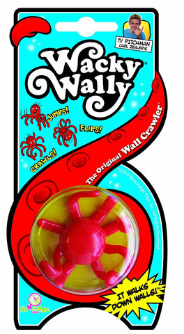 Nowstalgic Toys Wacky Wally, The Original Wall Crawler