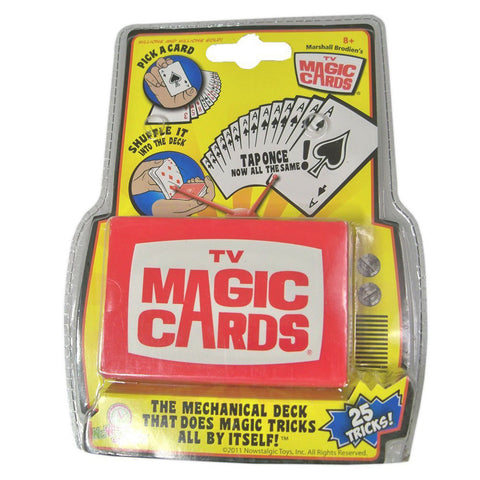 Nowstalgic Toys TV Magic Cards