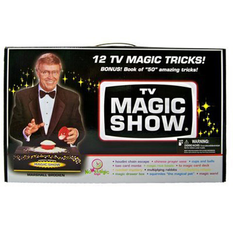 TV Magic Show Set by Marshall Brodien