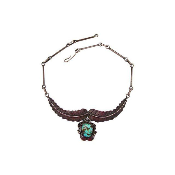 Sterling Silver & Turquoise Angela Lee Necklace