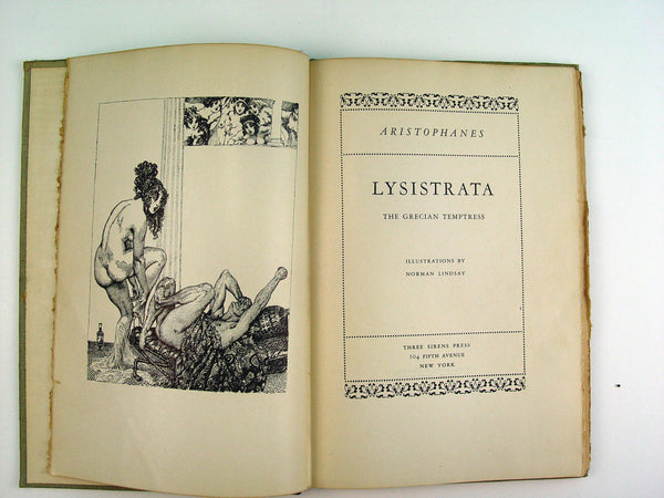 Lysistrata: The Grecian Temptress
