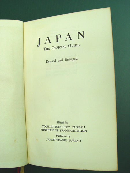 Japan: The Official Guide 1957