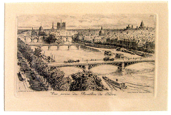 Paris Etchings - Set of 2