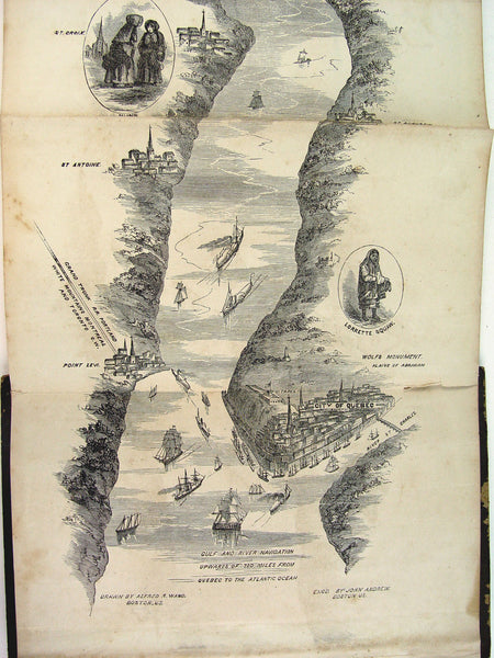 Hunter's Guide from Niagara to Quebec, 1857