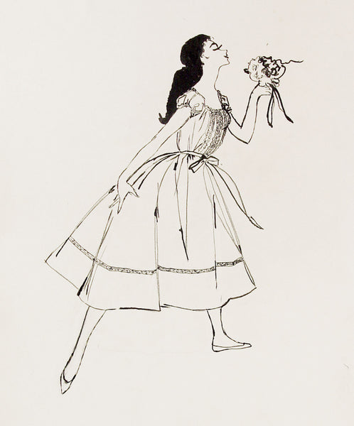 1955 Fashion Drawing