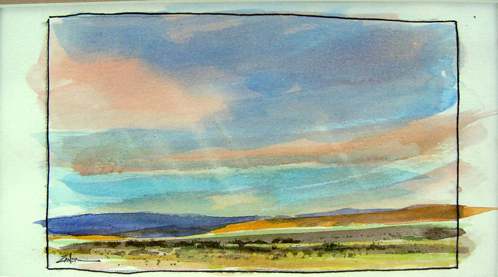 New Mexico Horizon by Bill Zaner