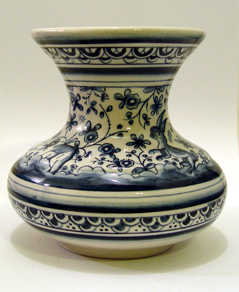 Hand Painted Portugese Vase