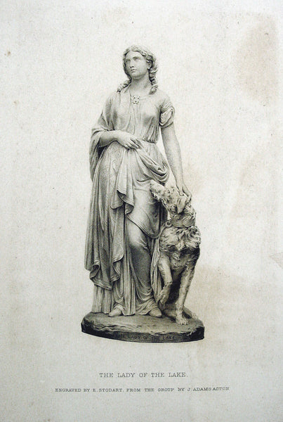 Lady of the Lake 1878 Engraving