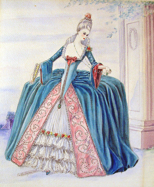 1940s Period Fantasy Costume - Artifax antiques & design
