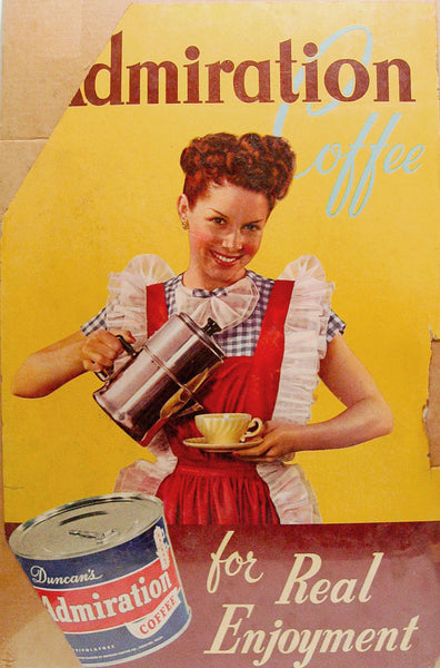 1950's Admiration Coffee Poster