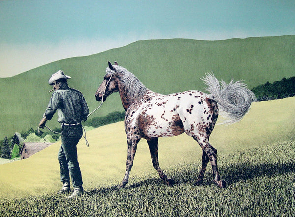 Appaloosa by Mel Hunter Lithograph - Artifax antiques & design