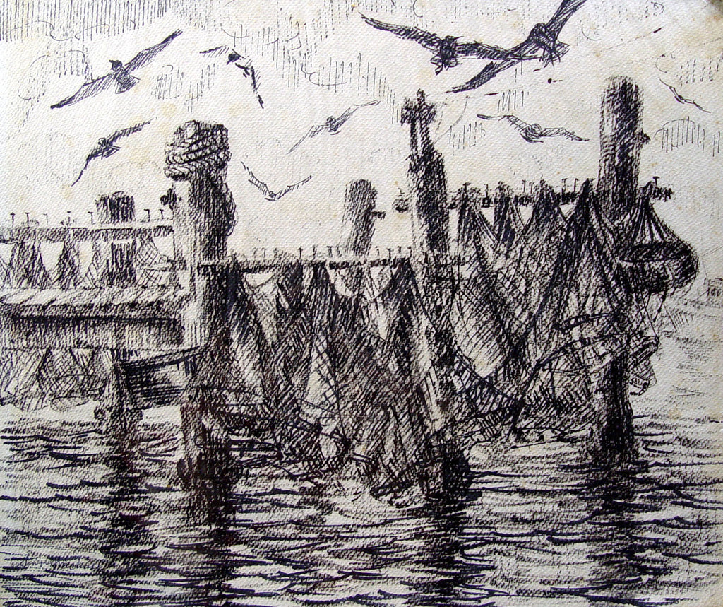 Drying Nets by Simon Michael