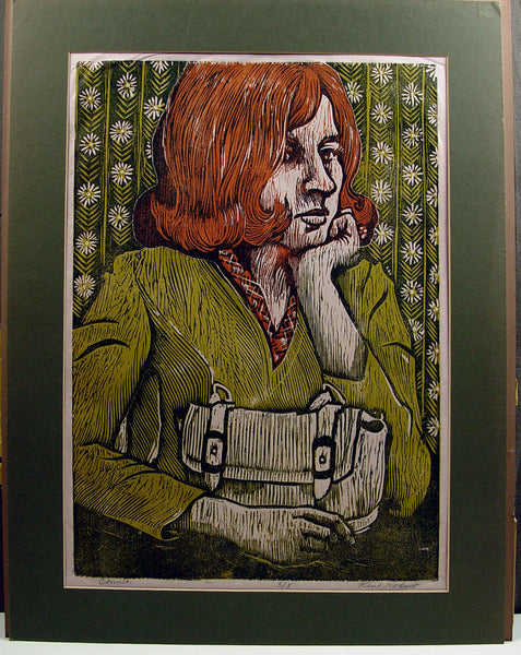 Kent Kobert Connie Block Print