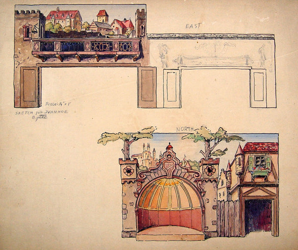 Medieval City Mural Study