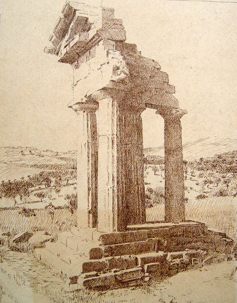 Ancient Greek Ruins - Artifax antiques & design