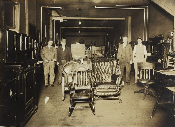 C. 1910 Photograph Harry C. Main Furniture Store, Hagerstown