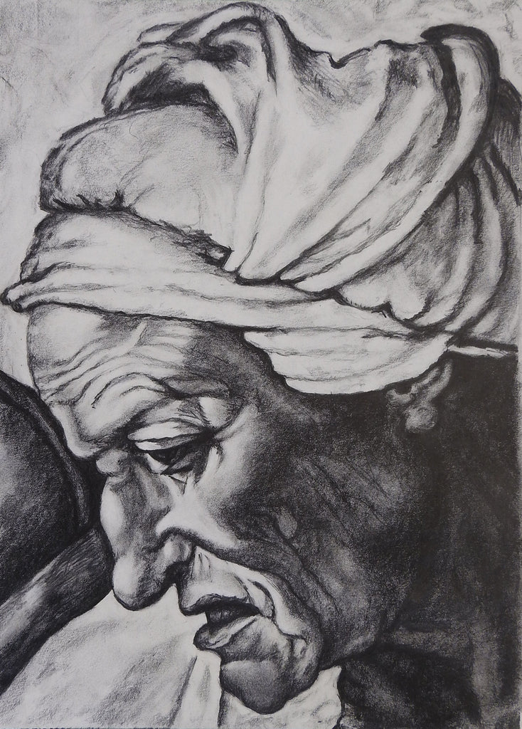 Pencil Study Old Master Painting