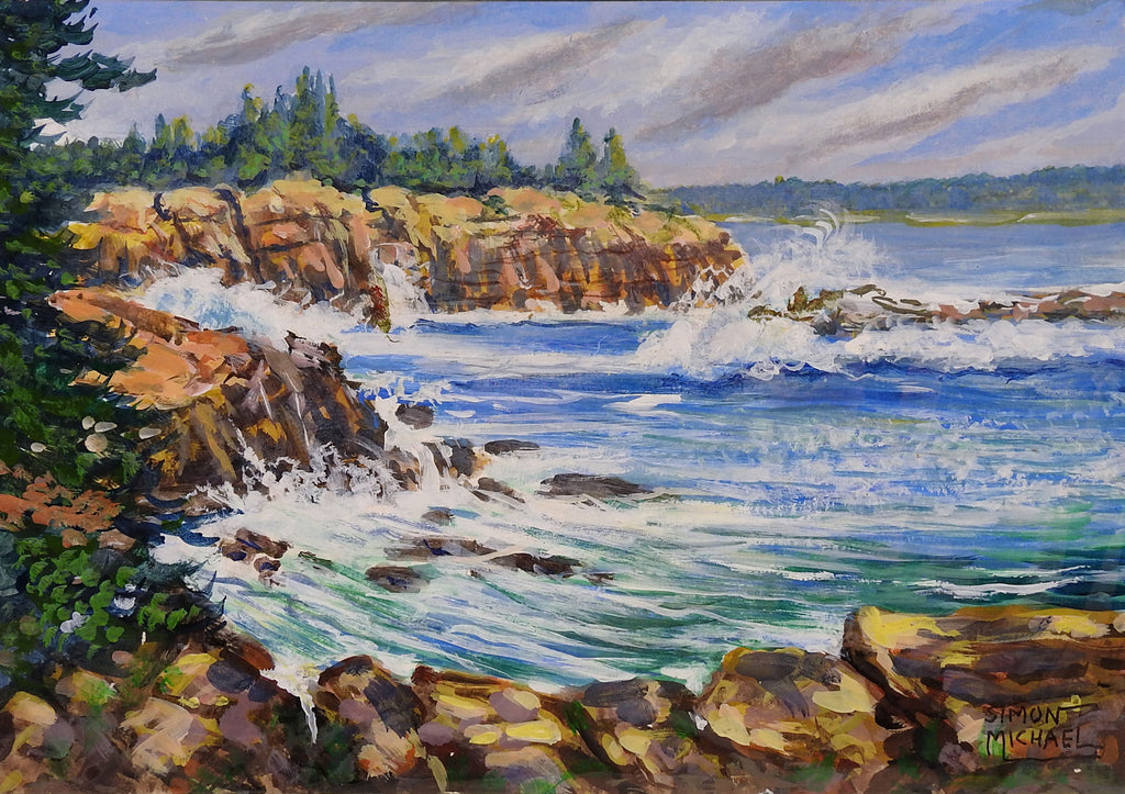 Acadia National Park, Maine By Simon Michael - Artifax antiques & design
