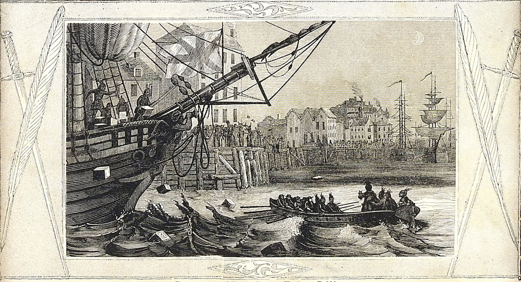 Boston Tea Party - Artifax antiques & design