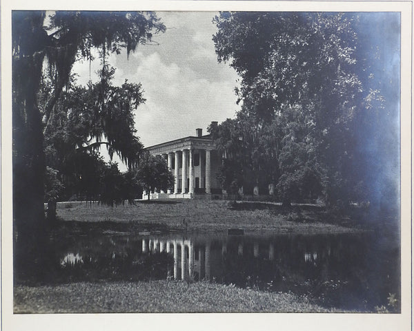 1950's Silver Albumen Photograph of Greenwood Mansion
