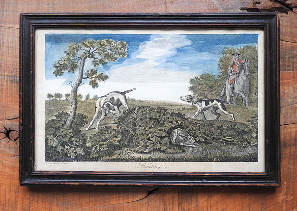 18th Century Hunting Engraving After James Seymour