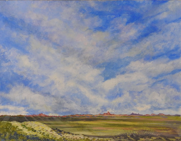 Big Sky in Arizona by Simon Michael Painting