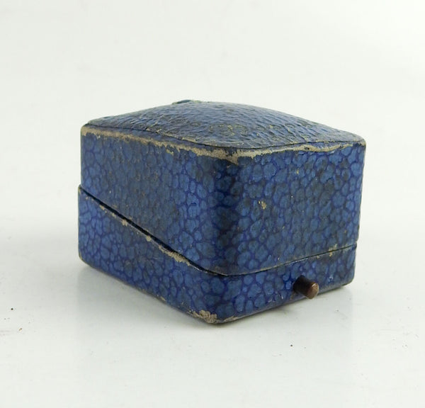 Antique Alamo Jewelry Ring Box