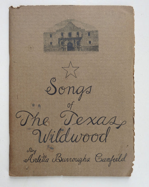 Songs of The Texas Wildwood Childrens Animal Poems