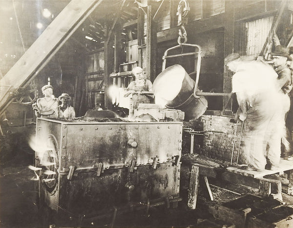 Vintage Industrial Foundry Photograph
