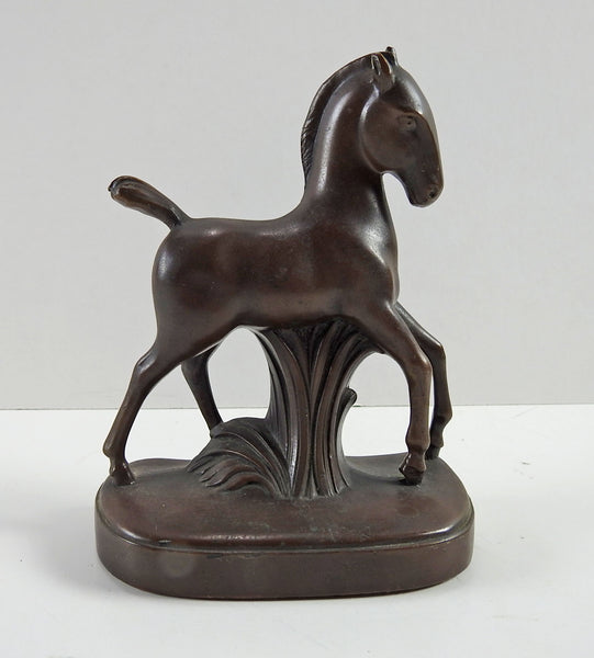 Jennings Bros. Art Deco Horse Bookend