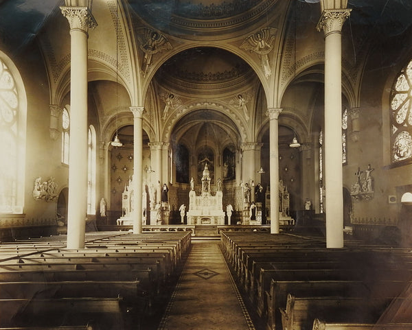 Cathedral Interior Photograph 1941